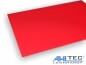 Preview: GFK rot 600 x 500 mm x 2,0 mm