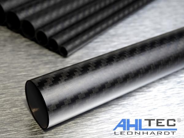 CFK Rohr Carbon Ø 22mm x 9mm x 800mm kohlfaser Rundrohr CFK-Rohr CFK Welle