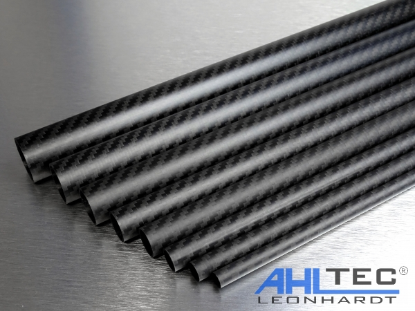 ahltecshop carbon rohr 25 mm x 23 mm x 500 mm. Black Bedroom Furniture Sets. Home Design Ideas