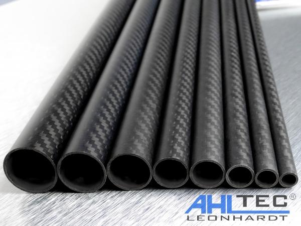 ahltecshop carbon rohr 25 mm x 23 mm x 330 mm. Black Bedroom Furniture Sets. Home Design Ideas